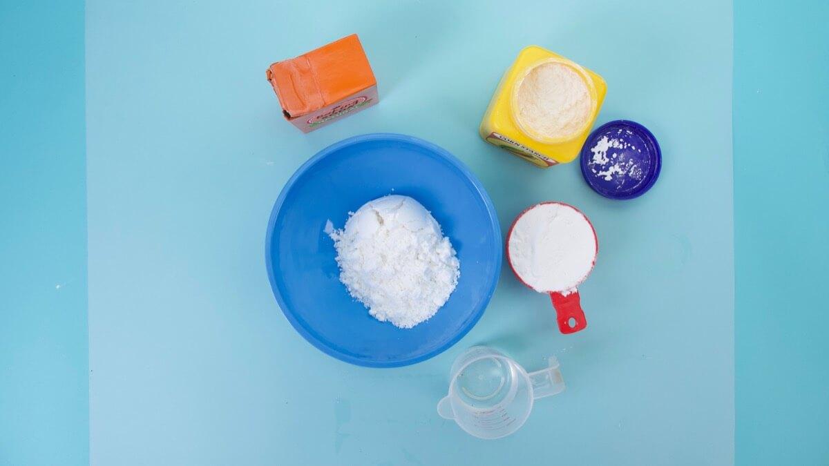 Make At Home Play Snow Activity