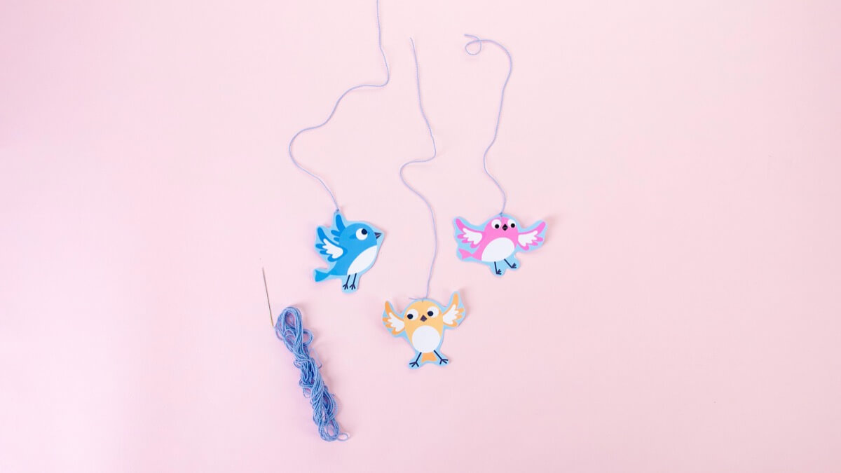 Treetop Family Mobile Craft