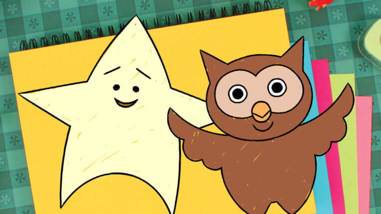 How To Draw Lulu The Owl and Juno The Star