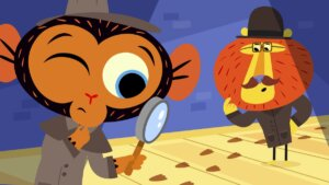 Mr. Monkey, Monkey Detective