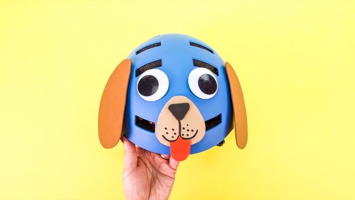 Decorate Your Helmet Like A Dog!