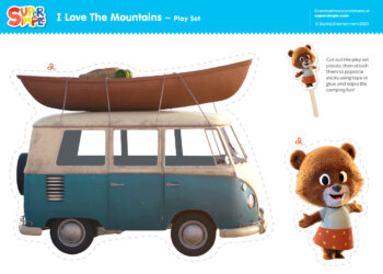 I Love The Mountains Play Set