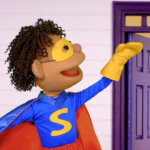 Knock Knock, Trick Or Treat? (Part 2) | featuring The Super Simple Puppets