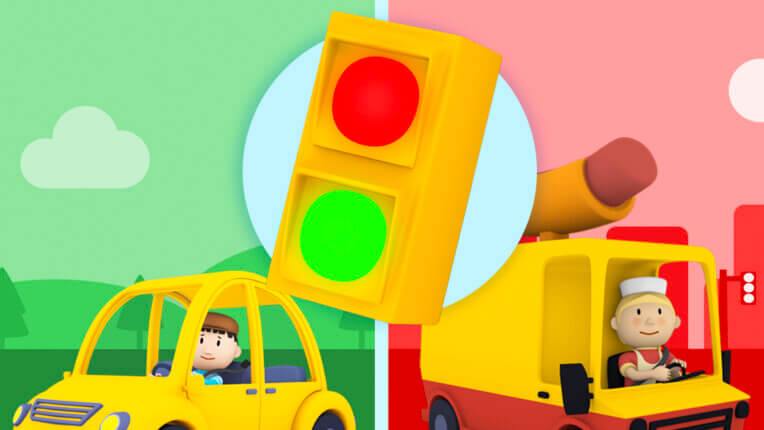 Red Light, Green Light (Carl's Car Wash)