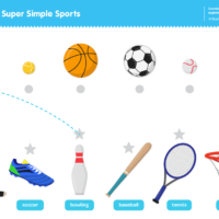 Super Simple Sports Worksheet - Connect