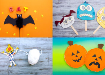 Ten Halloween Crafts & Activities from Super Simple!