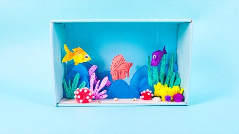 Underwater Diorama Craft
