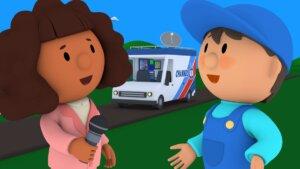 Nancy's News Van