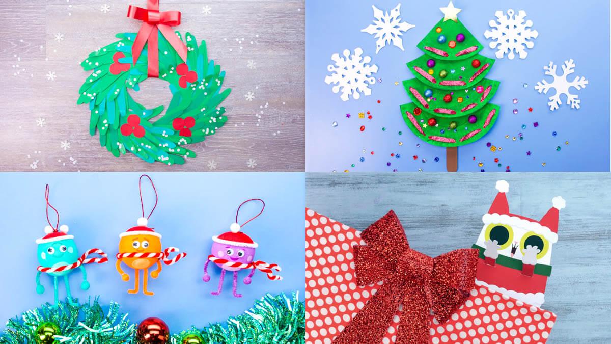 Super Simple's Top Ten Christmas Crafts!