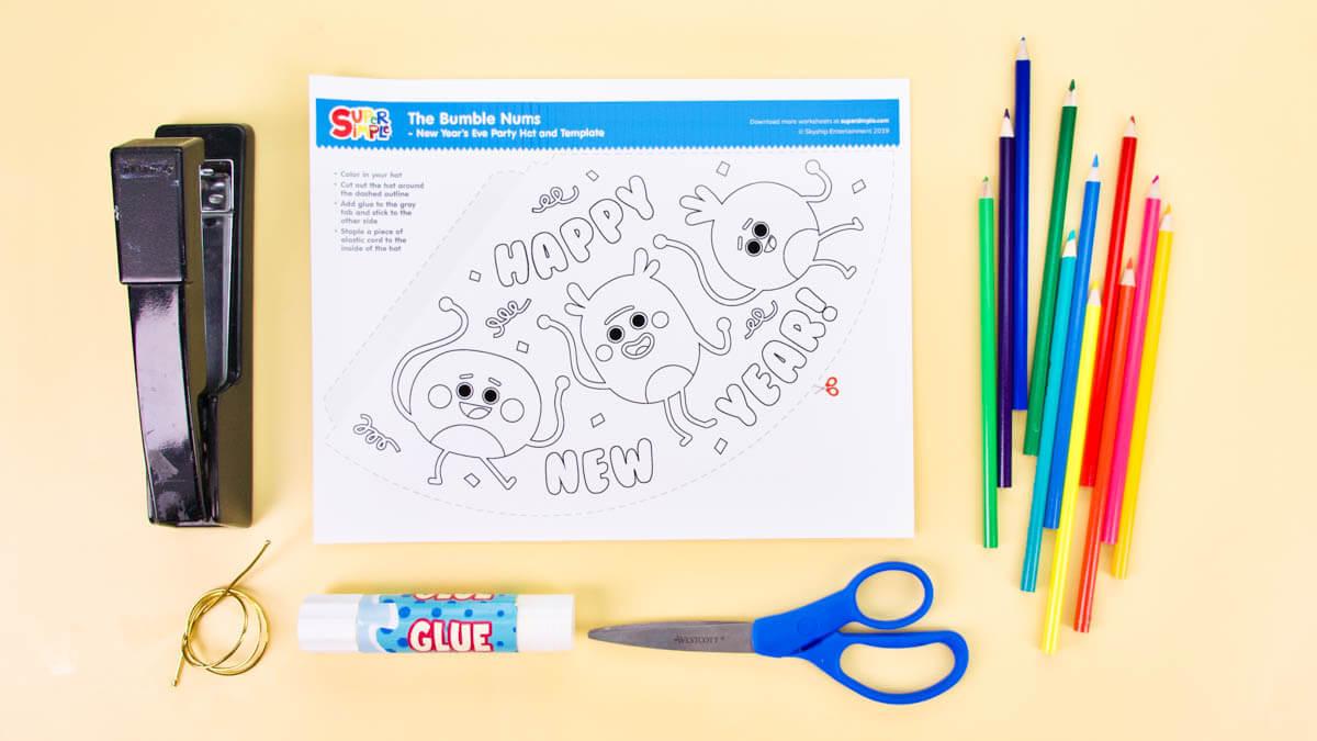 Top Ten New Year's Eve Activities From Super Simple!