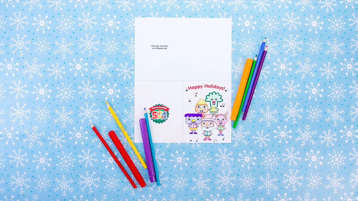 Holiday Cards from Super Simple!