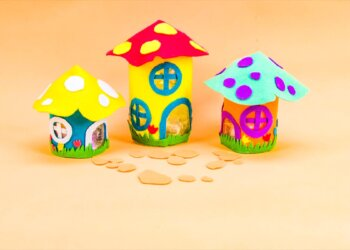 Fairy House DIY Night Light Craft
