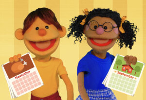 The Months Chant | featuring The Super Simple Puppets