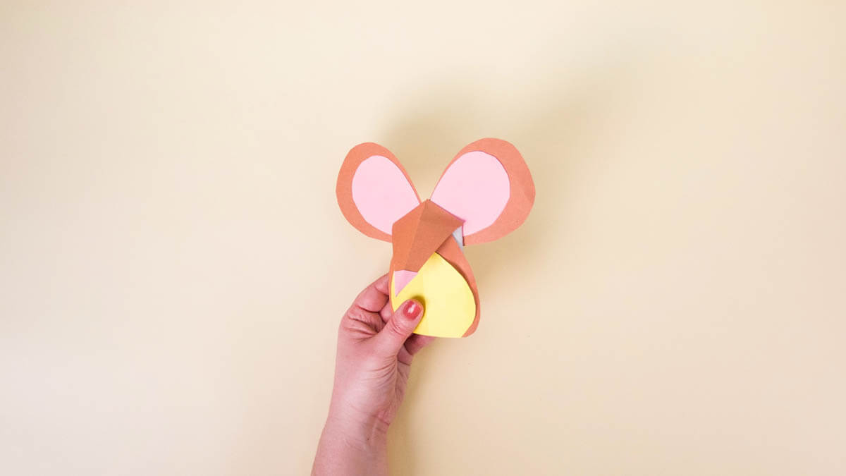 Treetop Family Mouse Craft
