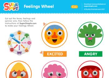 Feelings Wheel Printable