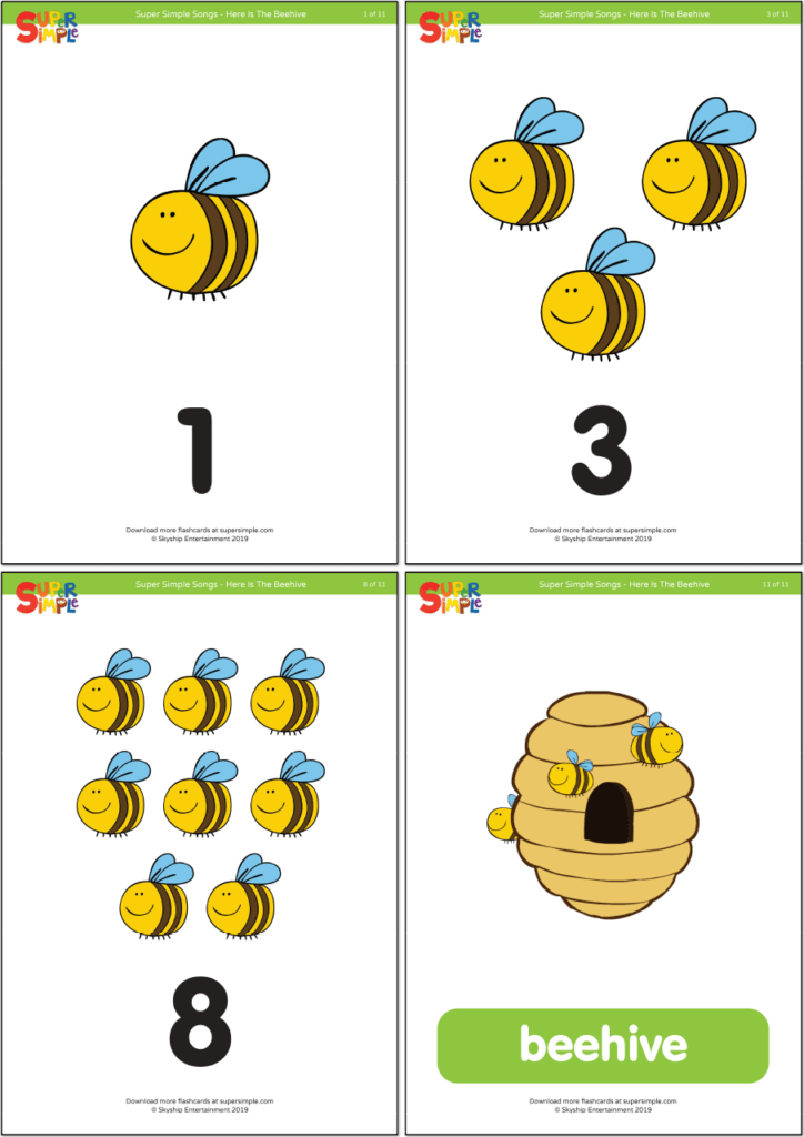 Here Is The Beehive Flashcards