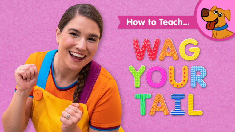 How To Teach Wag Your Tail
