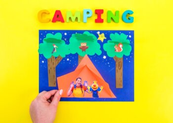 Let's Go Camping Craft