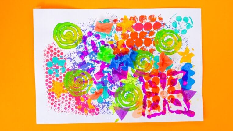 Abstract Art Activity