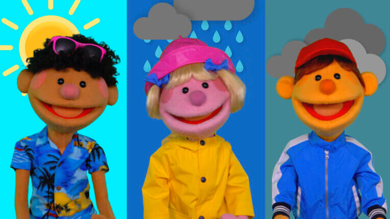 How's The Weather? | featuring The Super Simple Puppets