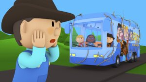 Rosey & The Rowdy Rustlers' Tour Bus