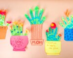 Flowering Handprint Cactus Craft for Mom