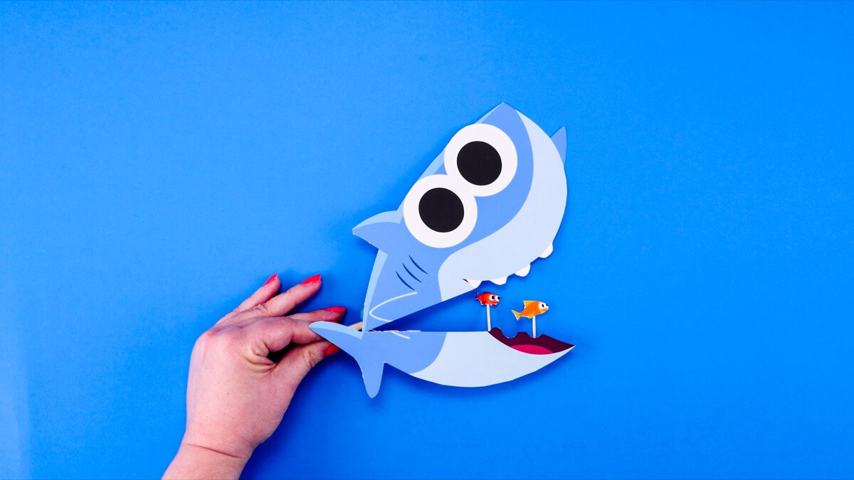 Big Fish, Little Fish! Finny The Shark Craft