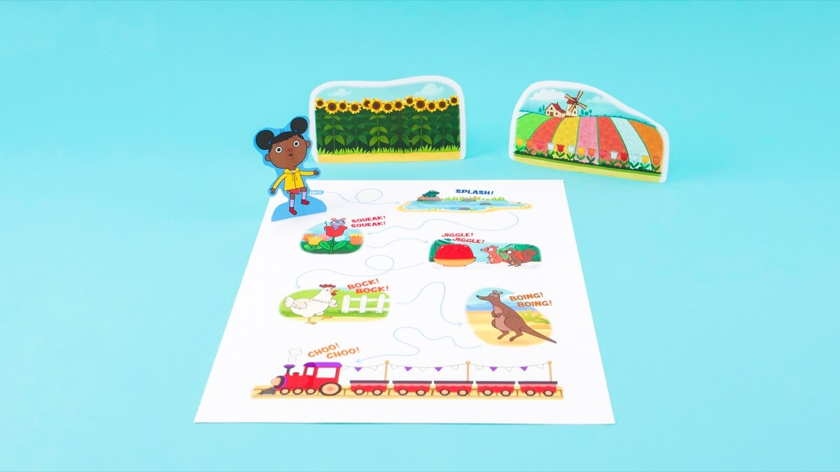 Toodly Doodly Doo Play Set