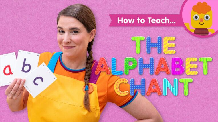 How To Teach The Alphabet Chant