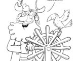 Capt. Seasalt & The ABC Pirates Coloring Page