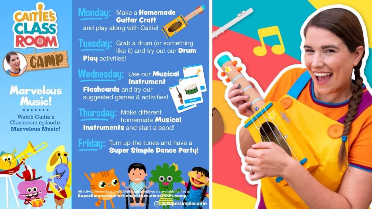 WEEK 2: Marvelous Music!