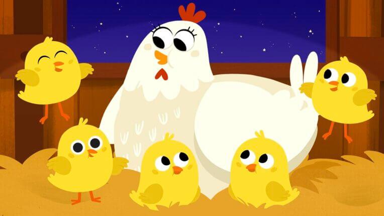 Five Little Chicks