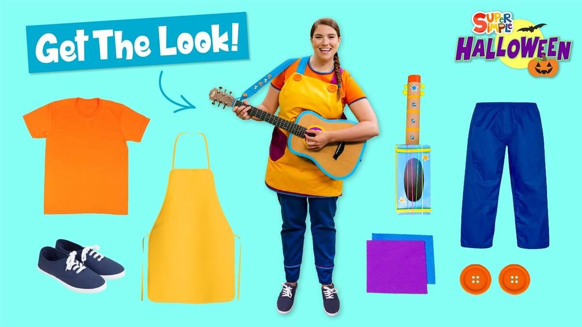 Get The Look! Super Simple Halloween Costume Ideas!