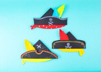 How To Make A Pirate Paper Hat
