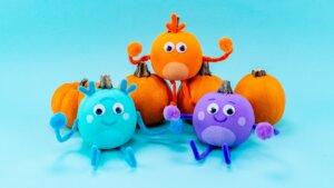 The Bumble Nums Pumpkins