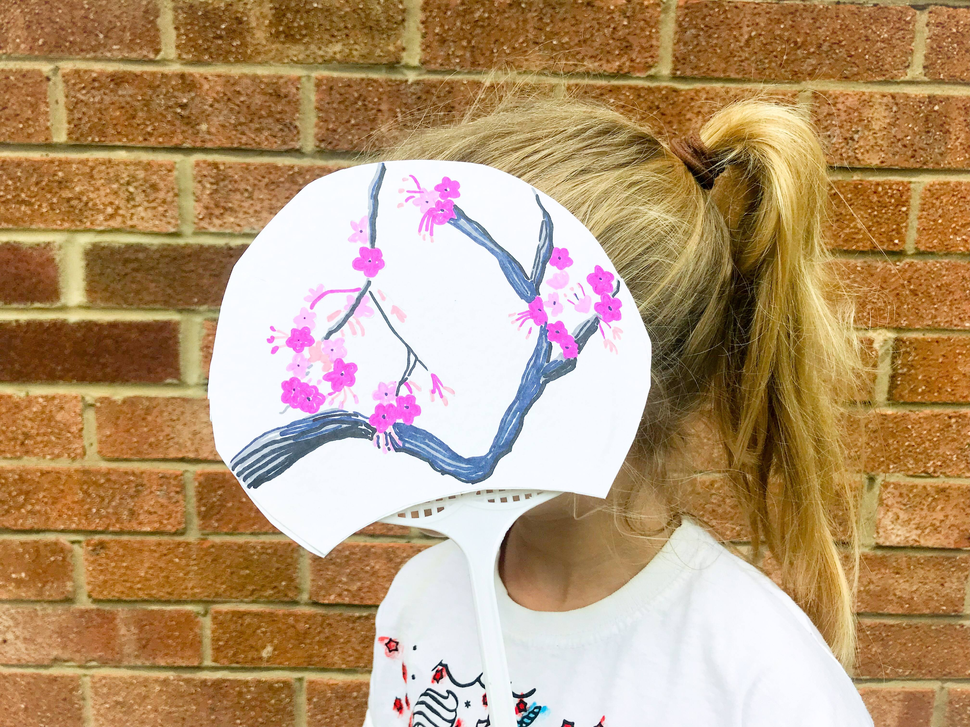 Child with Japanese Fan