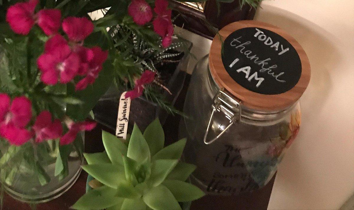 Thankfulness Jar