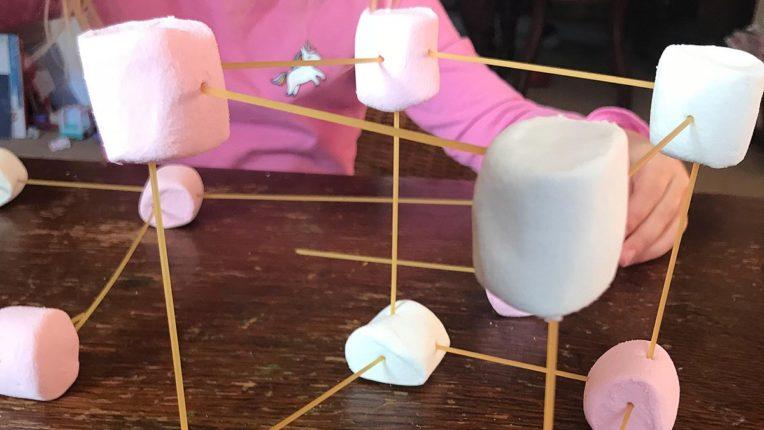 Spaghetti and Marshmallow STEM