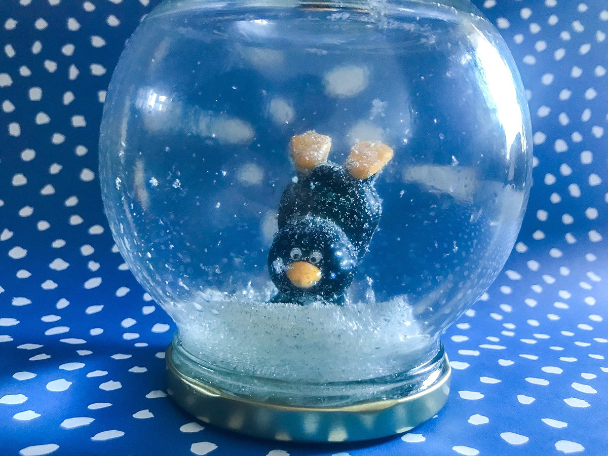 Diy Winter Snow Globes Super Simple