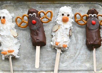 Moose and Goose Banana Pops