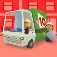 10 Little Garbage Trucks (Carl's Car Wash)