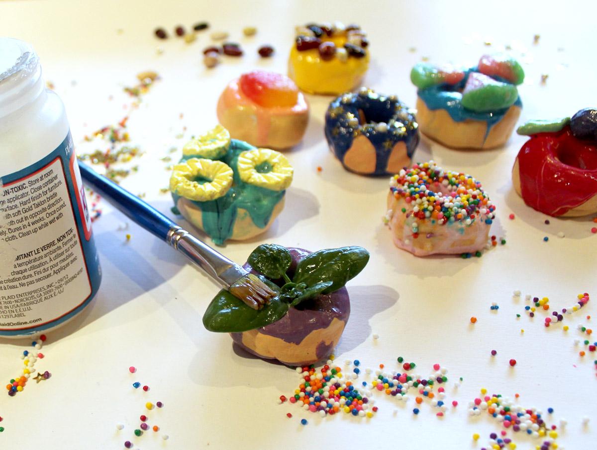 Glaze Donut Magnets