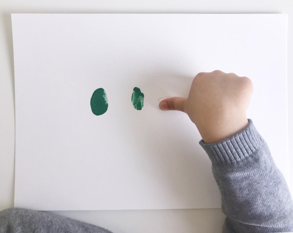Father's Day - Dinosaur Family Fingerprint - Fingerprints