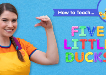 How To Teach Five Little Ducks