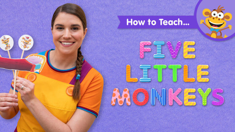 How To Teach Five Little Monkeys