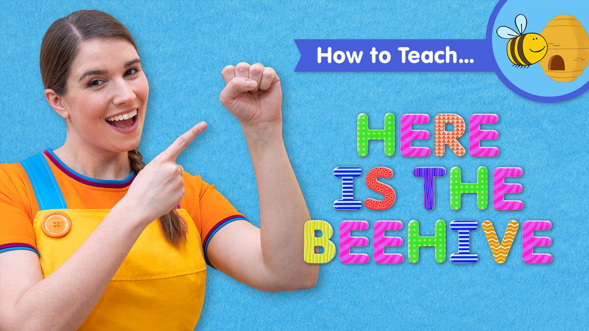 How To Teach Here Is The Beehive Super Simple