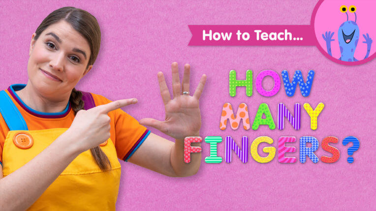 How To Teach How Many Fingers?
