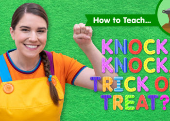 How To Teach Knock Knock, Trick Or Treat?