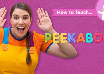 How To Teach Peekaboo