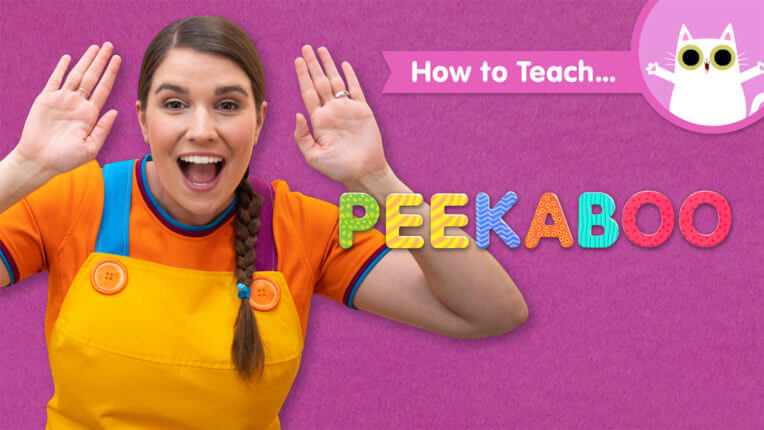 How To Teach Peekaboo